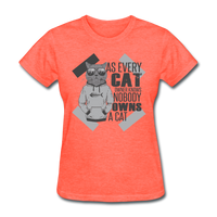 Cat Owners Know - Womens - heather coral