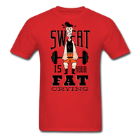Sweat Fat Crying - Unisex - red