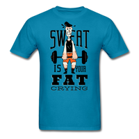 Sweat Fat Crying - Unisex - turquoise