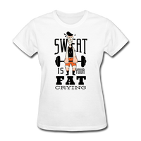 Sweat Fat Crying - Women's - white