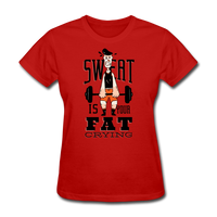Sweat Fat Crying - Women's - red