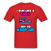 I Run Like A Lady - Unisex - red
