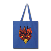 Angry Phoenix - Tote - royal blue
