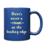 There's Never A Crowd - Mug2 - royal blue