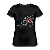 Raging Dragon - V-Neck Women's - black