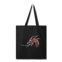 Raging Dragon - Tote - black