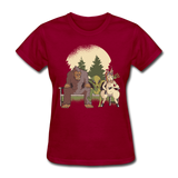 Mythical Creatures - Women's - dark red
