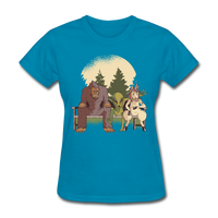 Mythical Creatures - Women's - turquoise