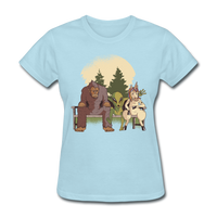 Mythical Creatures - Women's - powder blue