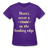 There's Never A Crowd - Ultra Cotton Ladies - purple