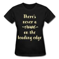 There's Never A Crowd - Ultra Cotton Ladies - black