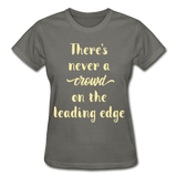There's Never A Crowd - Ultra Cotton Ladies - charcoal