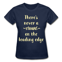 There's Never A Crowd - Ultra Cotton Ladies - navy