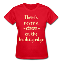 There's Never A Crowd - Ultra Cotton Ladies - red