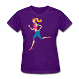 Sporty Jogger - Ladies - purple