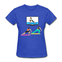 Fitness Side Lunge - Ladies - royal blue