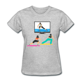 Fitness Side Lunge - Ladies - heather gray
