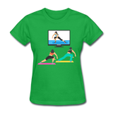 Fitness Side Lunge - Ladies - bright green
