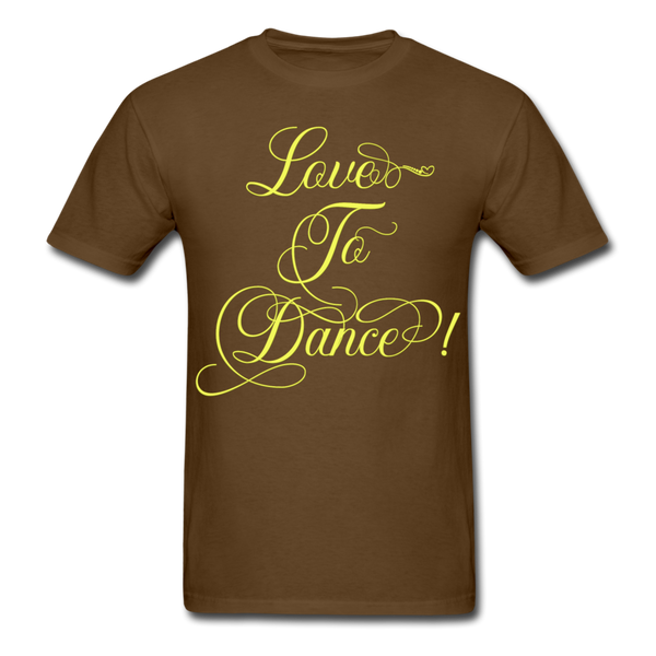 Love to Dance Yellow - Unisex - brown