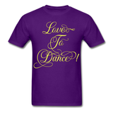 Love to Dance Yellow - Unisex - purple