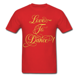 Love to Dance Yellow - Unisex - red