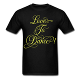 Love to Dance Yellow - Unisex - black