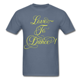 Love to Dance Yellow - Unisex - denim