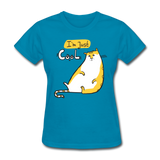 I'm Just Cool Cat - Ladies - turquoise