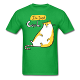 I'm Just Cool Cat - Unisex - bright green