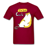I'm Just Cool Cat - Unisex - dark red