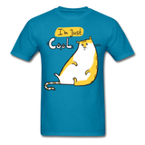 I'm Just Cool Cat - Unisex - turquoise