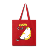 I'm Just Cool Cat - Tote - red