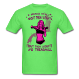 About Them Weights - Unisex - kiwi