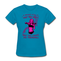 About Them Weights - Ladies - turquoise