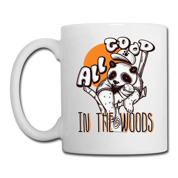 All Good in the Woods - Mug - white