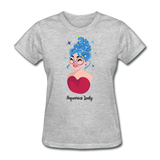 Aquarius Lady - Ladies - heather gray