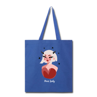 Aries Lady - Tote - royal blue