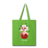 Aries Lady - Tote - lime green