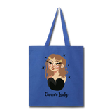 Cancer Lady - Tote - royal blue