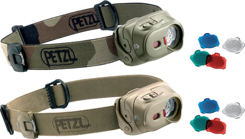 Petzl TacTikka + RGB Black
