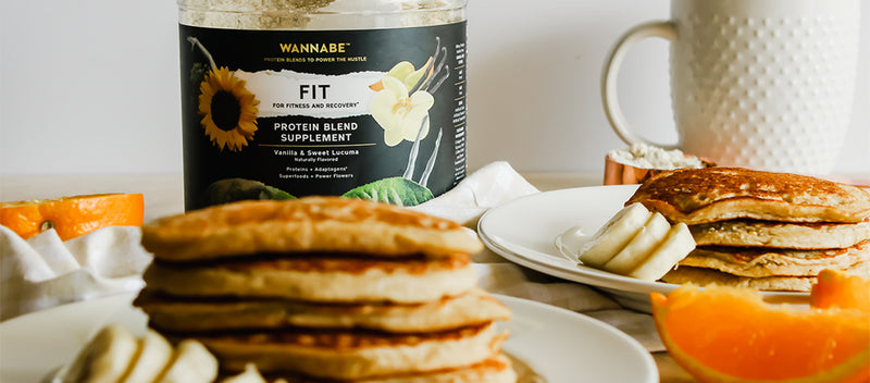 Perfect FiTONIC Fit Protein Pancakes!