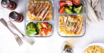 Healthy Lunch Guide - One Full Week of Healthy & Easy Lunch Recipes