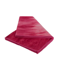 Small Pink Yoga Towel