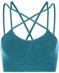 Teal Sweaty Betty Strappy Sportsbra