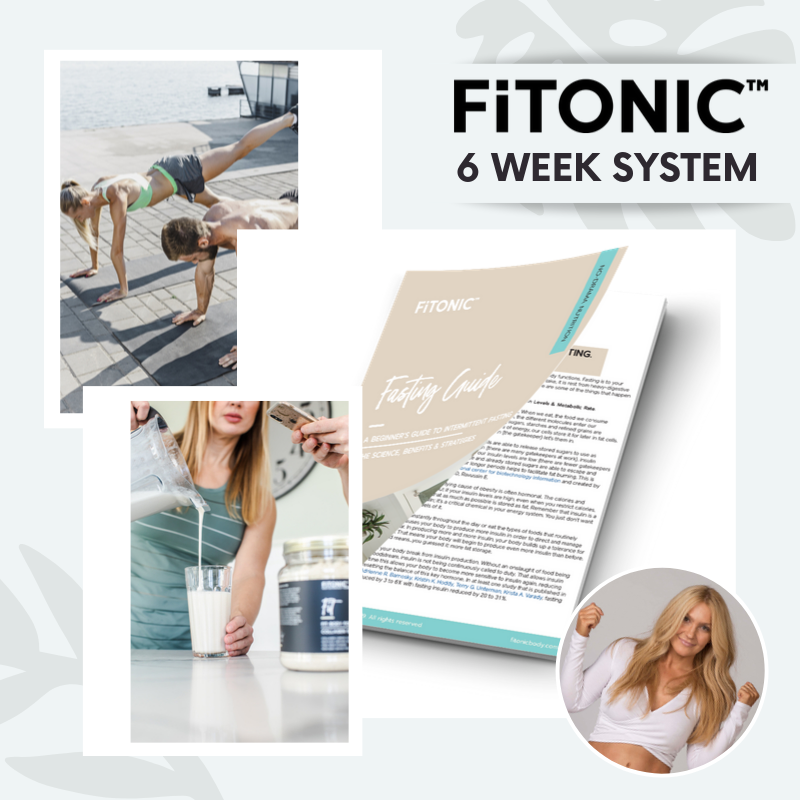 6 Week FiTONIC Method Plan