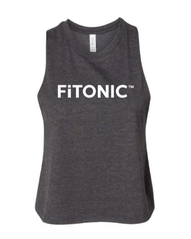 FiTONIC Racerback Cropped Tank