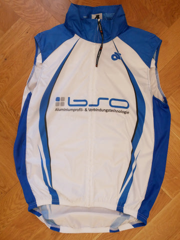 Cycling Vest (blue-white)