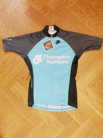 Men Cycling Jersey (grey-blue)