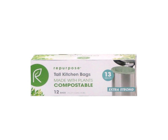 Repurpose Heavy-Duty Compostable Bags
