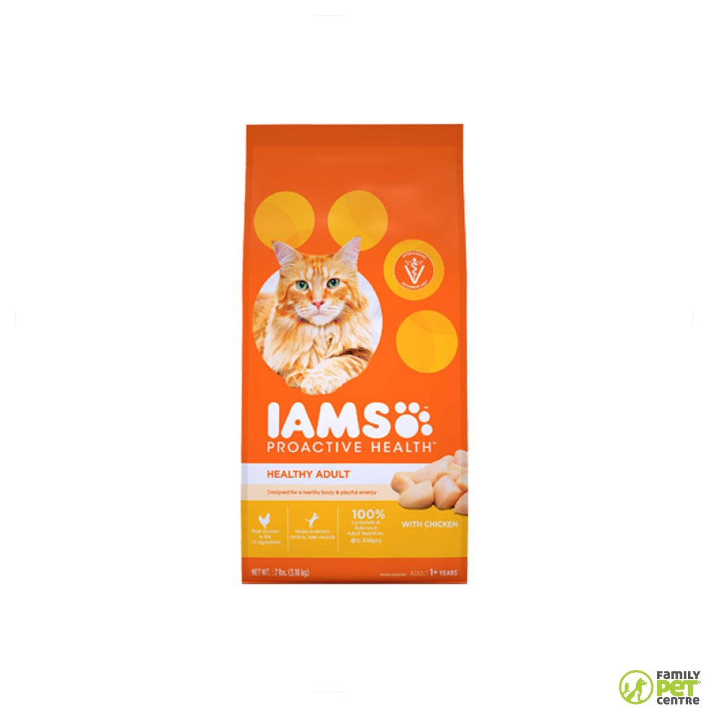 Iams Adult Cat Food Chicken